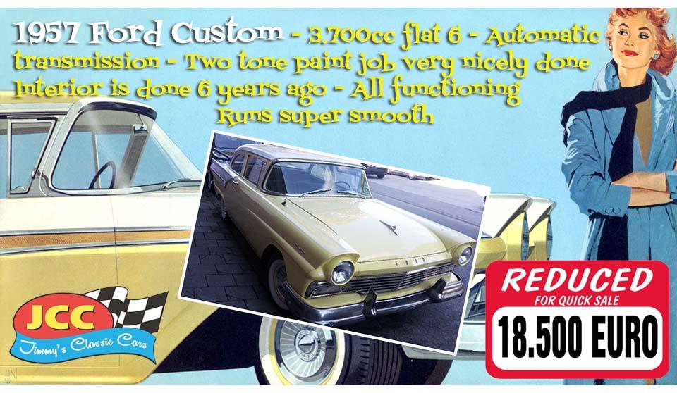 57 Ford Custom