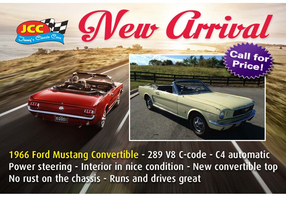 66 Mustang Convertible re MD