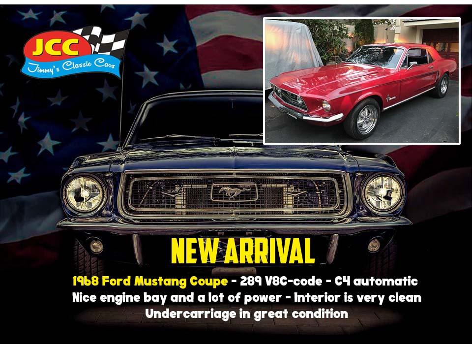 68 Mustang Stamford ct