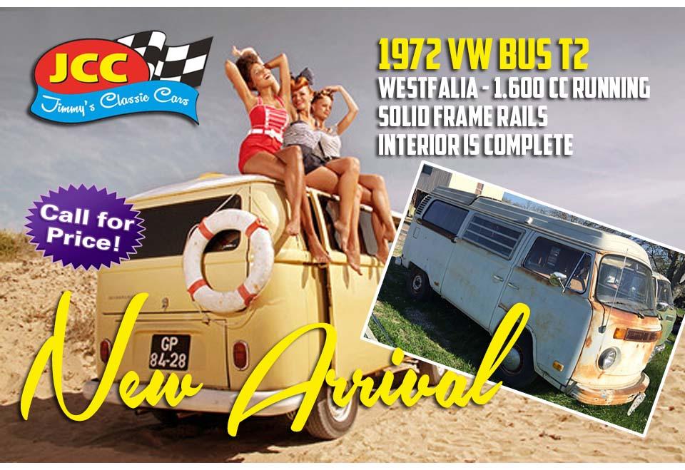 72 VW Bus T2 White SF