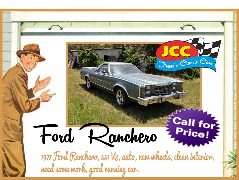 77 Ford Ranchero ad2