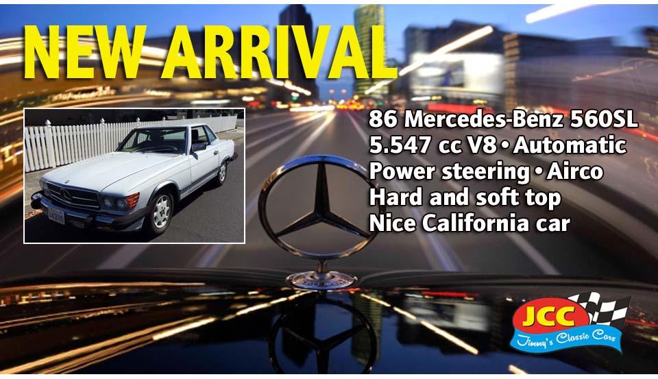 86 Mercedes 560SL SF