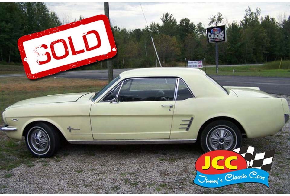 Mustang 1966 Sunshine Yellow