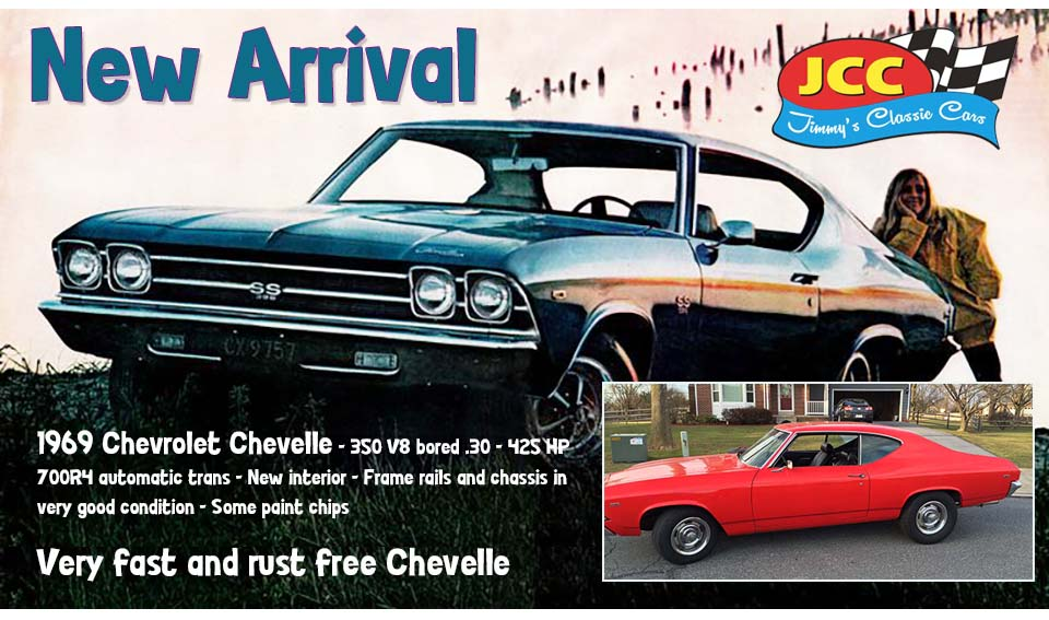 ad 69 Chevelle Red MD