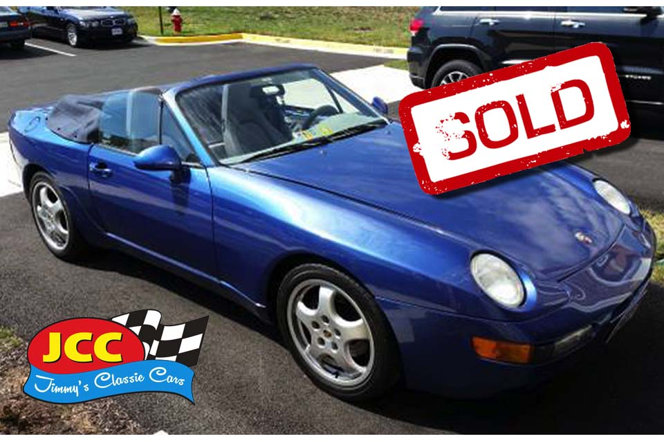 sold 92 Porsche