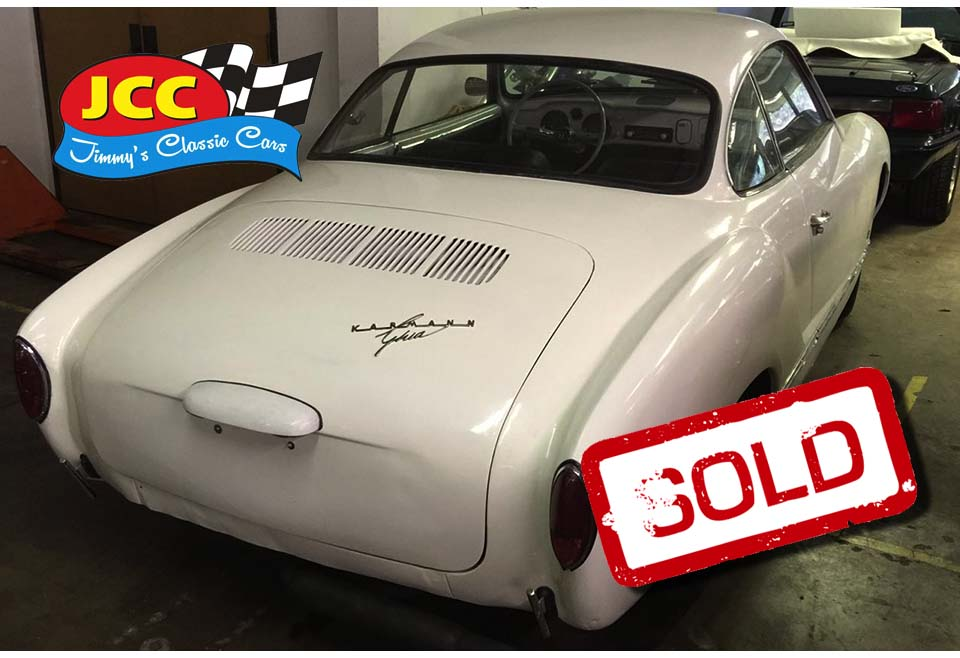 sold Karmann white