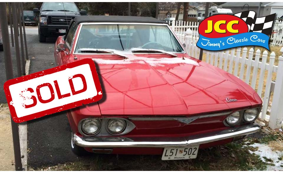 sold corvair