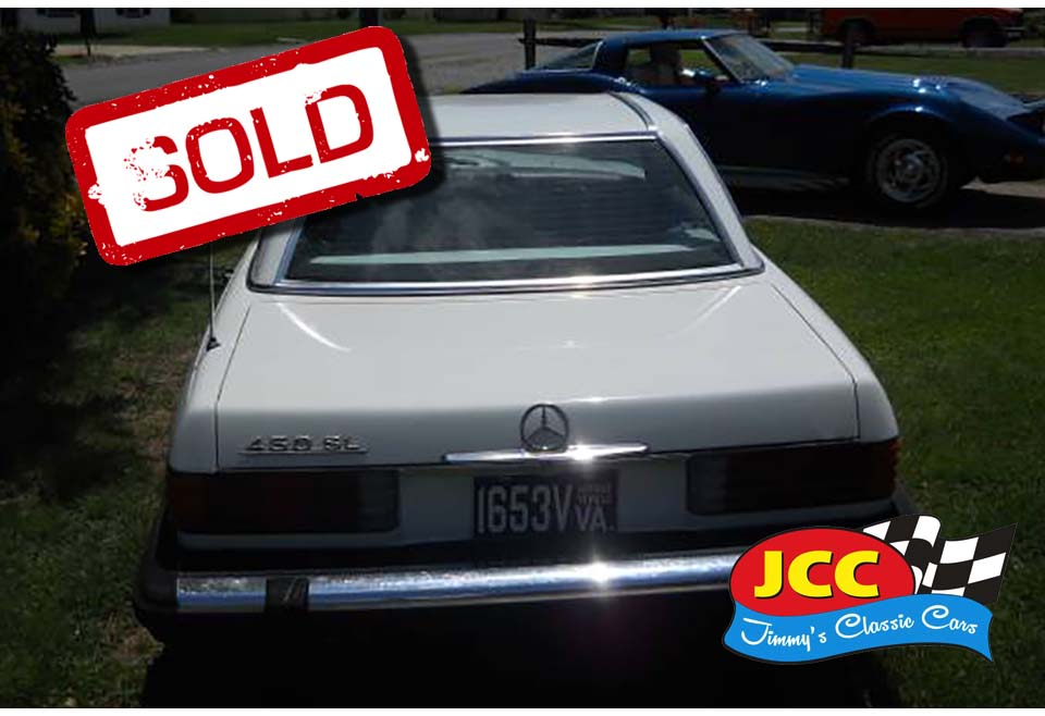 sold mercedes white