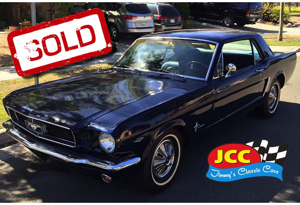 sold mustang blue