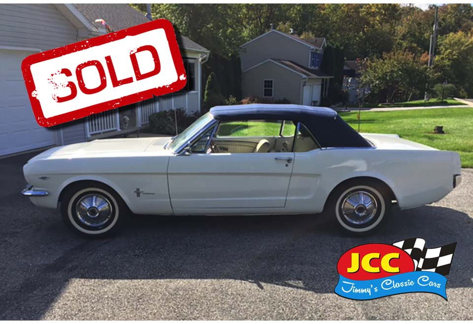 sold mustang convertible