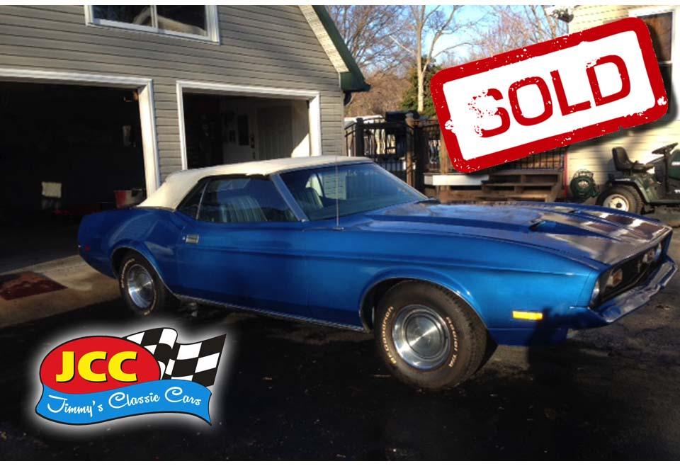 sold mustang convertible