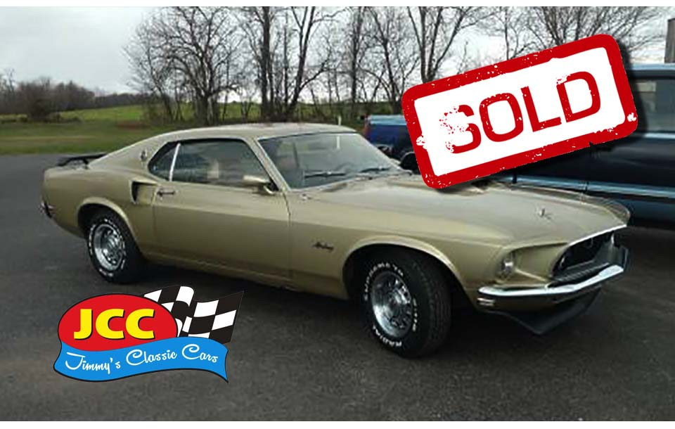 sold mustang fastback