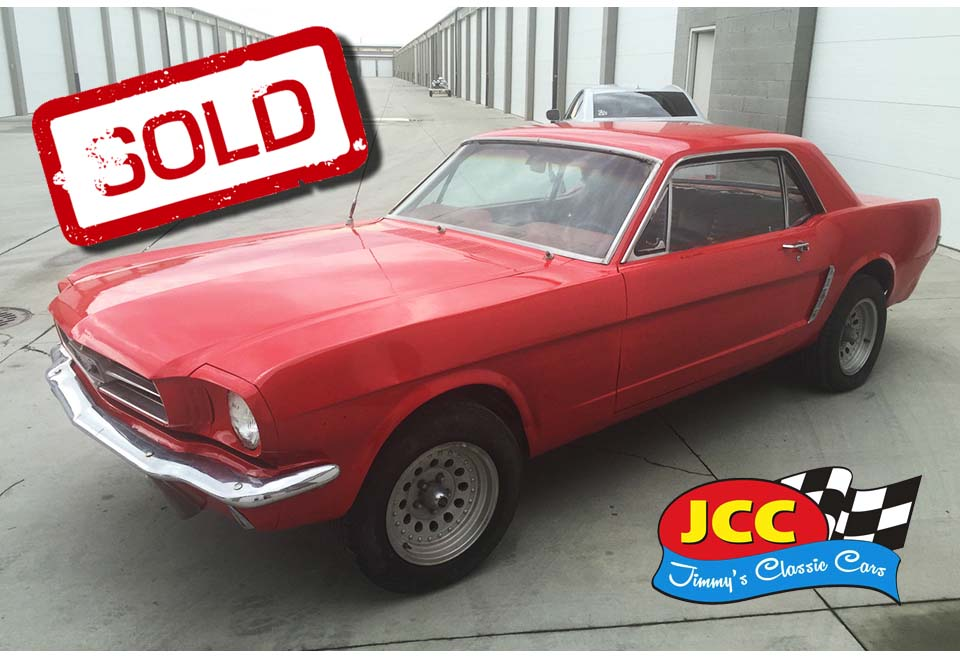 sold mustang red 2