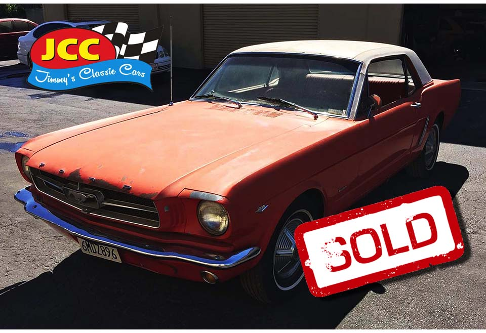sold mustang red 3