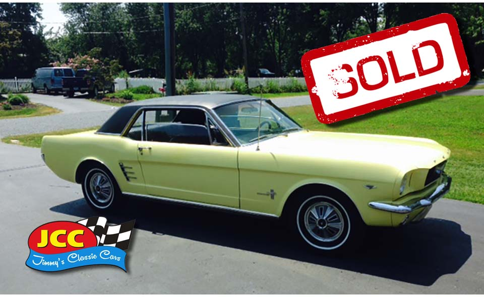 sold mustang yellow