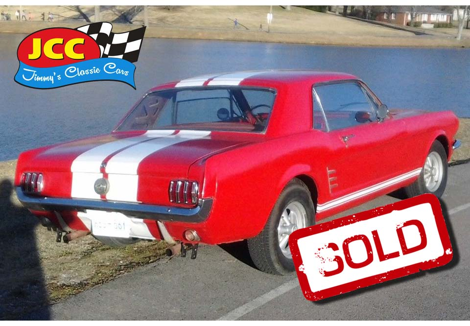 sold mustang