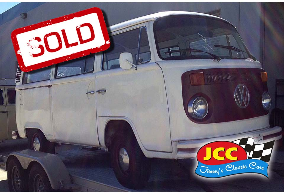 sold vw bus